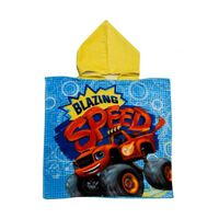 badponcho Blazing Speed blauw 50 x 100 cm