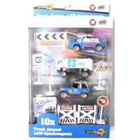 Gearbox Truck Speelset Politie (1) 10 Stuks
