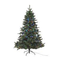 Black Box Trees - Arrow Fibre Optic Tree - Led - Multicolour Green -