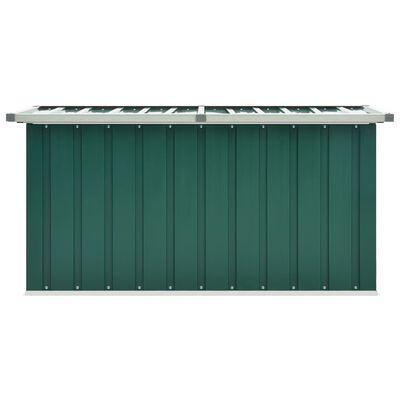 vidaXL Tuinbox 129x67x65 cm groen
