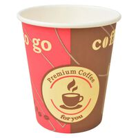 vidaXL Wegwerp koffiebekers papier 240 ml (8 oz) 1000 st