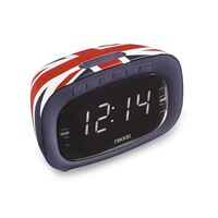 Nikkei Wekkerradio NR200UK Union Jack ontwerp