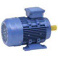 vidaXL Elektromotor 3 fase 1,5 kW/2 pk 2-polig 2840 rpm aluminium