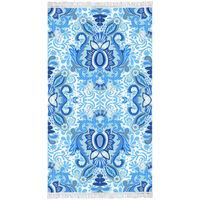 Hapiness Strandlaken YOGI 100x180 cm blauw