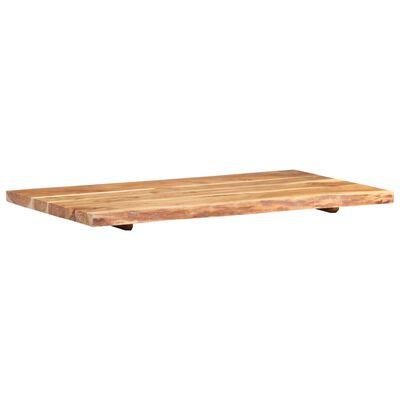 vidaXL Wastafelblad 100x55x3,8 cm massief acaciahout