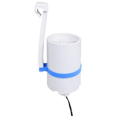 vidaXL Zwembadskimmer hangend en pomp met adapter 16 cm kunststof