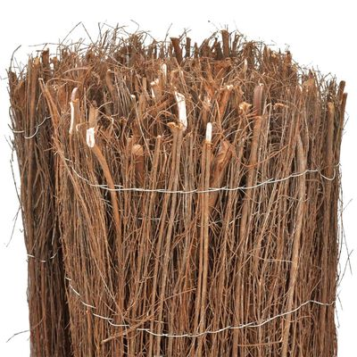 vidaXL Scherm 600x100 cm rijshout