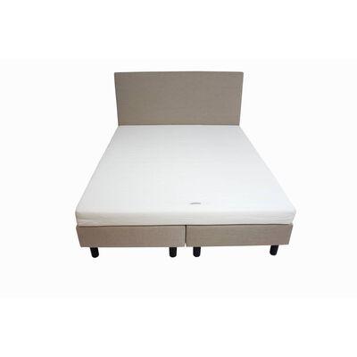 180x210 Hotel boxspring creme|beige inclusief matras SG25