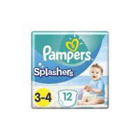 Pampers Zwemluiers - Splashers Maat 3-4 Carrypack 12 Stuks