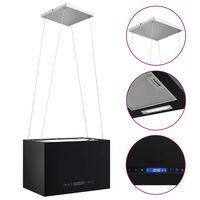 vidaXL Afzuigkap hangend met aanraaksensor LCD 55 cm staal