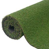vidaXL Kunstgras groen 1,5x5 m/20-25 mm