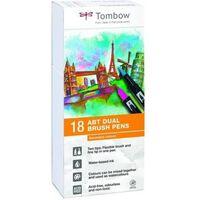 Tombow ABT Dual-Brush tekenpennen - Secundaire kleuren