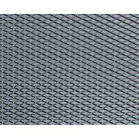 Foliatec racegaas ruitvormige maas 60 x 20 cm aluminium zwart 2 st