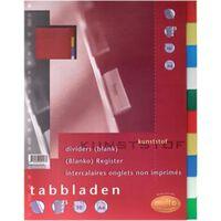 Multo tabbladen voor ft A4, 23-gaatsperforatie, 10-delig, geassorte...