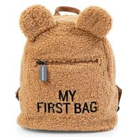 """CHILDHOME Kids Backpack """"My First Bag"""" Teddy Beige"""