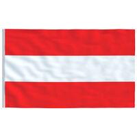 vidaXL Vlag Oostenrijk 90x150 cm