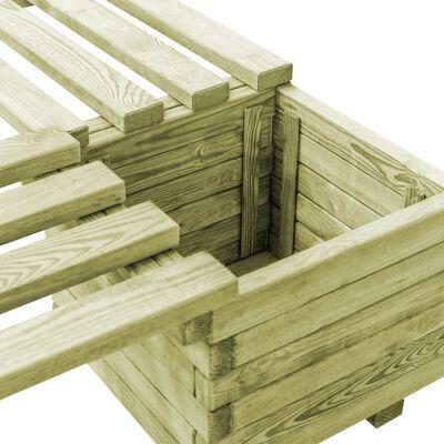 vidaXL Plantenbank geïmpregneerd grenenhout