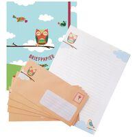 Deltas Paperstore: briefpapier met uil