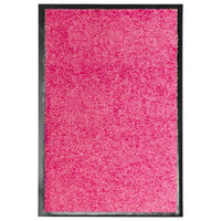 vidaXL Deurmat wasbaar 40x60 cm roze