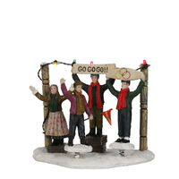 Luville  -  Cheering People Battery Operated  - Huisdecoratie