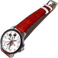 Horloge Mickey Mouse Junior 22 Cm Rood