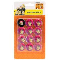 Toi-Toys Minions gummen roze 12-delig