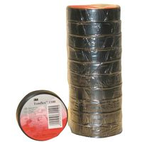 Templex isolatie tape 15 mm 10 m zwart