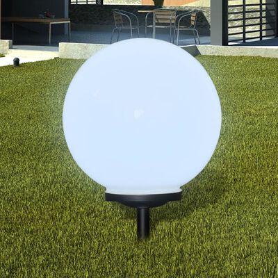 vidaXL Buitenverlichting op zonne-energie (balvormig) LED 40 cm (1 st)