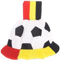 België Voetbalhoed vlag rood/geel/zwart