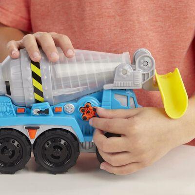 Play-Doh Wheels Cementwagen + 4 Potjes Klei
