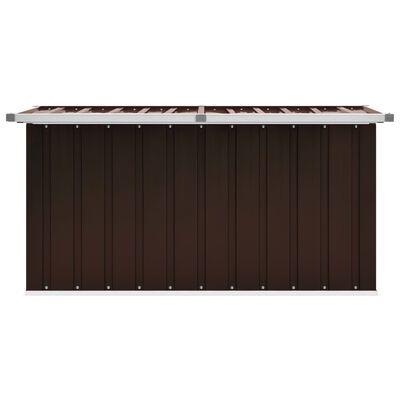 vidaXL Tuinbox 129x67x65 cm bruin
