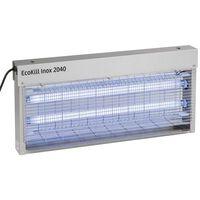 Kerbl Elektrische vliegendoder EcoKill Inox 2040 zilver RVS 299932