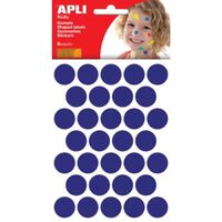 Apli Kids stickers, cirkel diameter 20 mm, blister met 180 stuks, b...