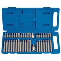 Draper Tools Zeshoekige, Torx & spline bit set 40-delig TX-STAR 33323