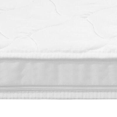 vidaXL Topmatras ei-profiel 6 cm koudschuim 160x200 cm
