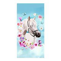 Good Morning My Beauty strandlaken - 100% polyester velours - 75x150