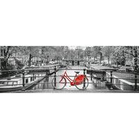 Clementoni legpuzzel Panorama A'dam Bicycle 1000 stukjes