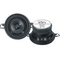 speakerset tweeweg coaxiaal X87 160 Watt zwart