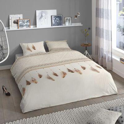 Good Morning Bibi flanel dekbedovertrek - 100% geruwde flanel-katoen