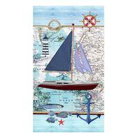 Good Morning Strandlaken AARON 100x180 cm blauw