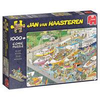 Jumbo legpuzzel Jan van Haasteren De Sluizen 1000 stukjes