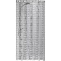 Sealskin douchegordijn Hammam 180 cm zilver 210861318