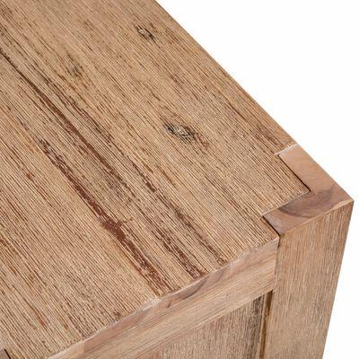 vidaXL Boekenkast met 3 schappen 80x30x110 cm massief acaciahout