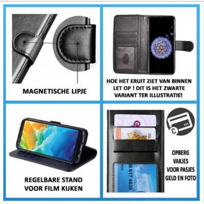 Apple Iphone X/xs Gouden Wallet / Book Case / Boekhoesje/
