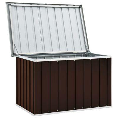 vidaXL Tuinbox 109x67x65 cm bruin