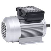 vidaXL Elektromotor 1 fase 2,2 kW/3 pk 2-polig 2800 rpm aluminium