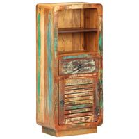 vidaXL Hoge kast 45x32x110 cm massief gerecycled hout