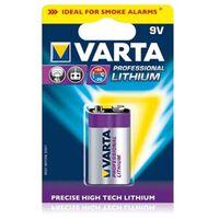 Varta 6122 Lithiumbatterij 9V voor rookmelders