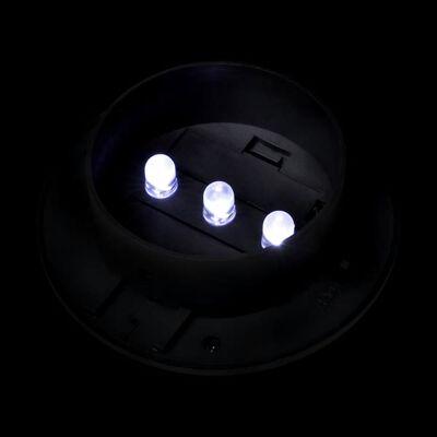 vidaXL Solar buitenlampset 6 stuks zwart