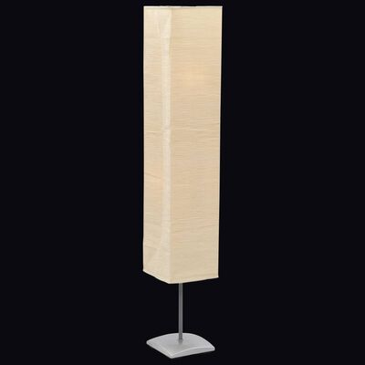 Vloerlamp met papieren lampenkap 135 cm